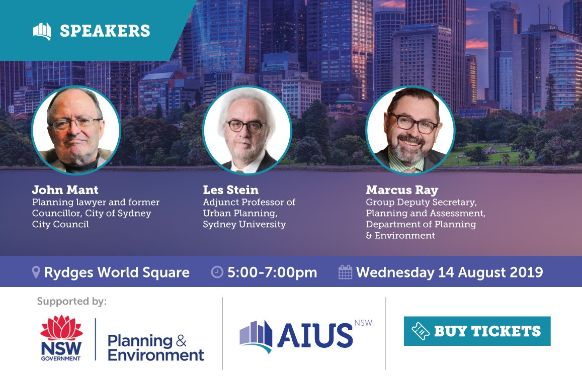 AIUS NSW Seminar 14 August 2019 Speakers