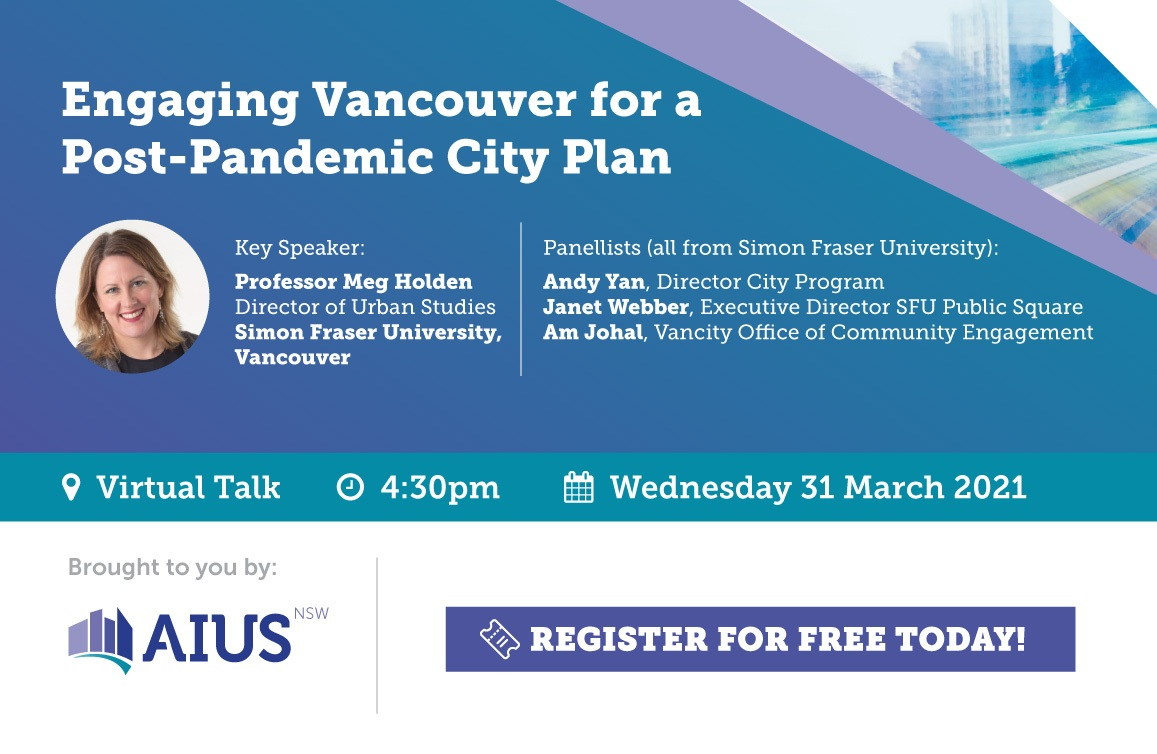 Engaging Vancouver for a Post-Pandemic City Plan
