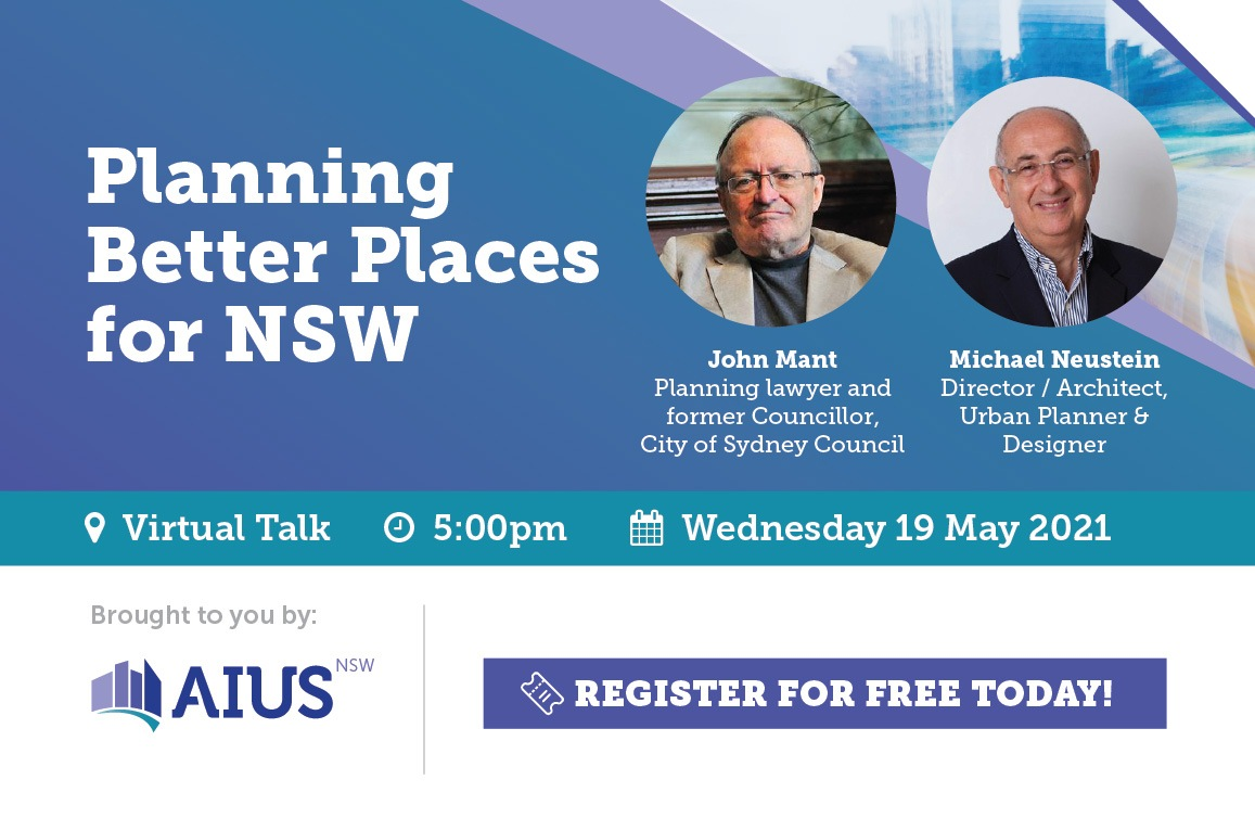 Planning Better Places for NSW
